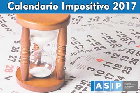 Calendario de vencimientos 2017