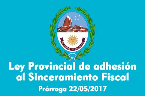 LEY DE ADHESION AL REGIMEN DE SINCERAMIENTO FISCAL