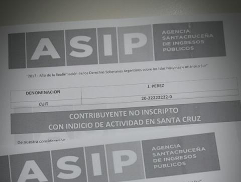 LA AGENCIA SANTACRUCEÑA DE INGRESOS PÚBLICOS REALIZARÁ PERIODICAMENTE ENTRECRUZAMIENTOS DE DATOS CON LA AFIP
