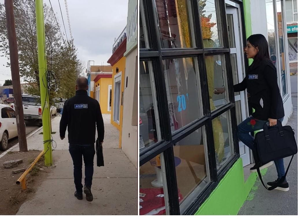 LA ASIP REALIZÓ OPERATIVOS DE VERIFICACIÓN EN PICO TRUNCADO Y LAS HERAS