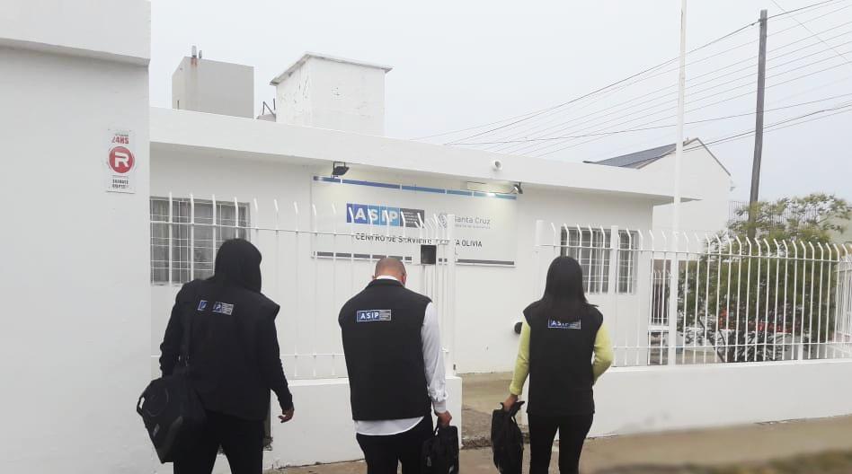 La ASIP realizó operativos de fiscalización en Caleta Olivia, Piedrabuena y Puerto Santa Cruz.