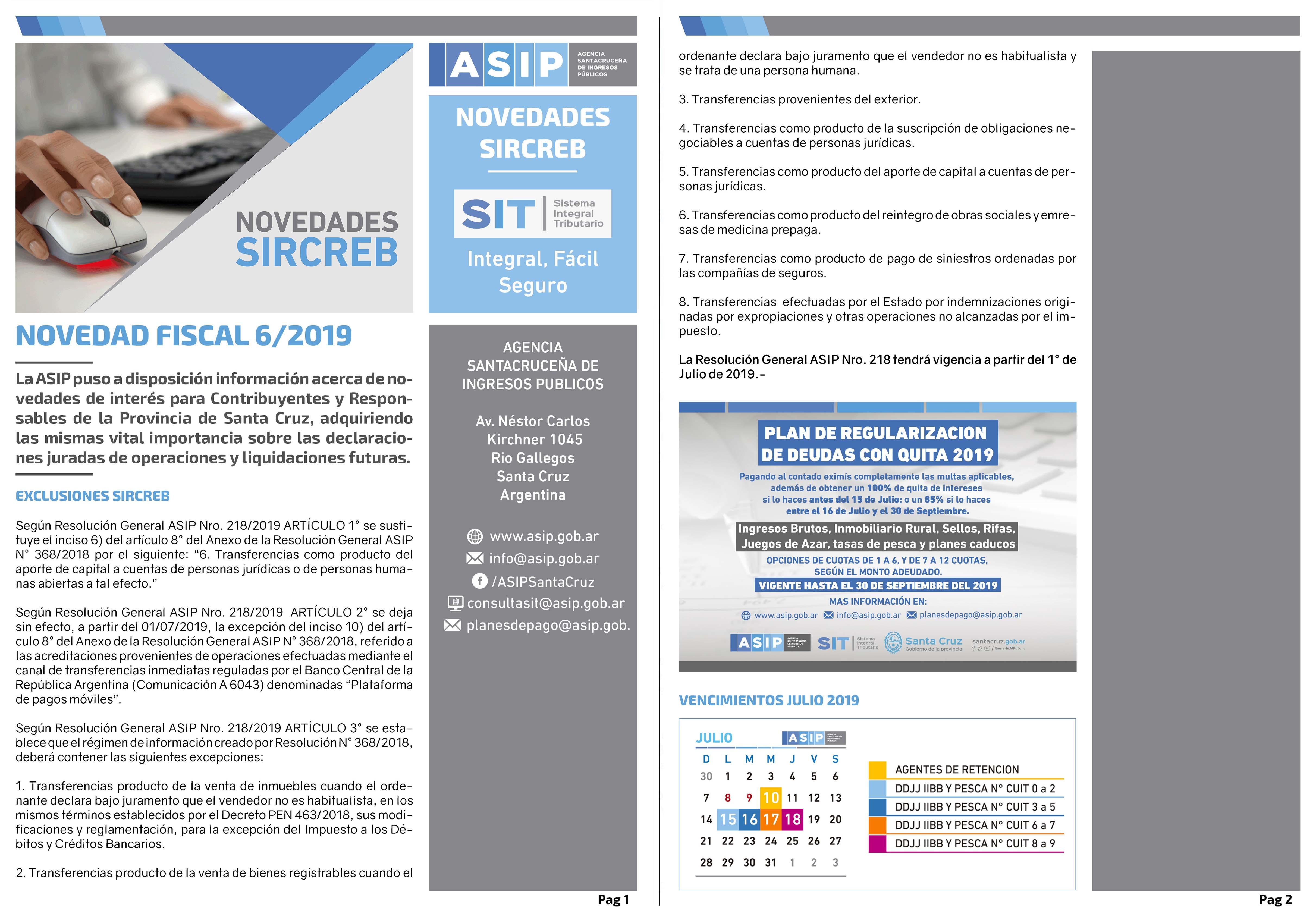 Alerta Fiscal ASIP 6